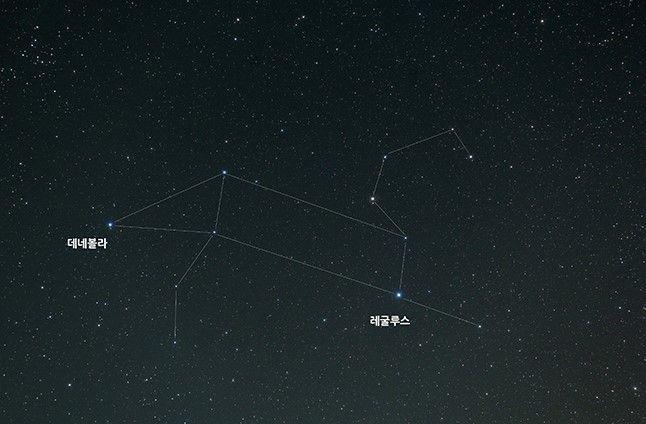 봄철 캠핑장에서 만날 수 있는 별자리 : 네이버 매거진캐스트 사자자리