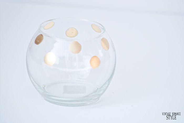 diy kate spade pearl place rose bowl knock off.diy polka dot vase