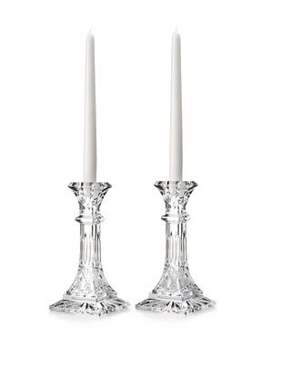 41% OFF Waterford Crystal Lismore Set of Candlesticks