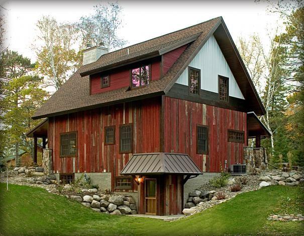 wood pole shed | barn wood | Pole Barn House