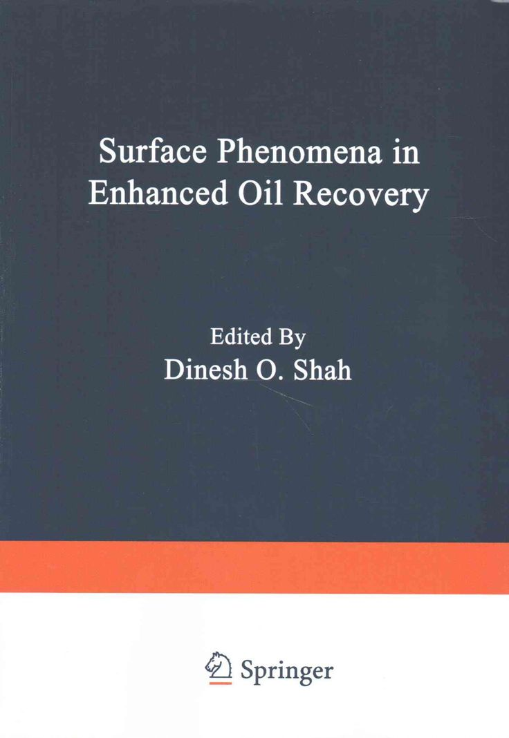 Surface Phenomena in Enhanced Oil Recovery