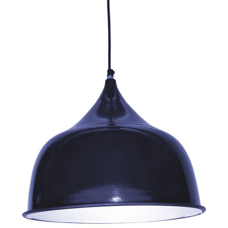 Zest Lighting - Iron Navy Pendant Lamp, $199.00 (http://www.zestlighting.com.au/iron-navy-pendant-lamp/)