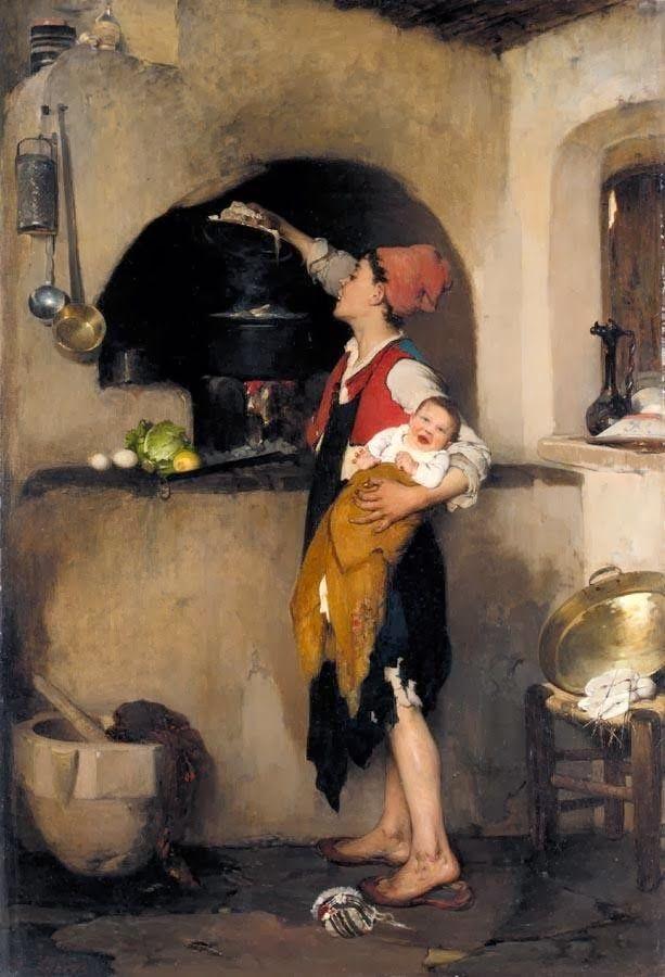 Στη κουζίνα