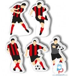 Candelina compleanno 5 giocatori Milan