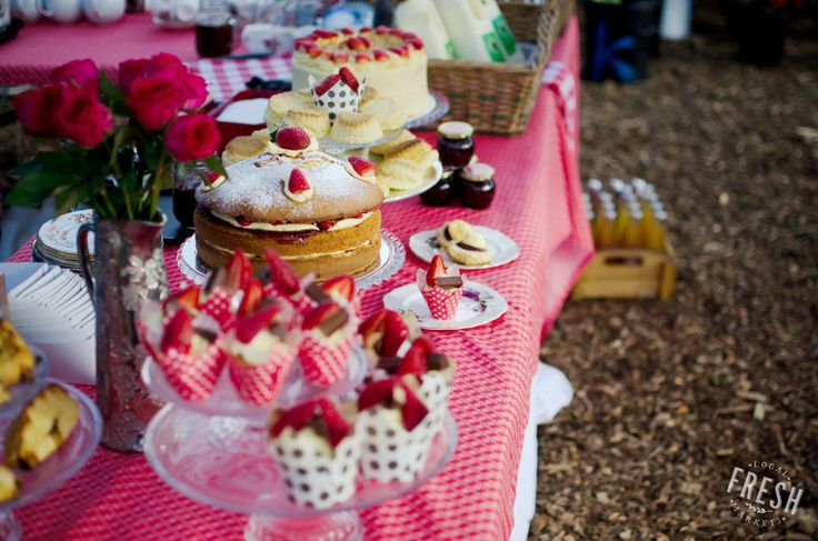 The beautiful and mouth-watering stall, Lucy's, at the OZCF Market.