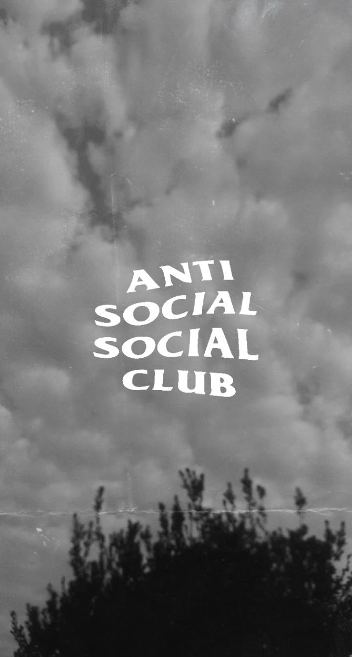 Fondos Aesthetic Anti Social Social Club Black Aesthetic Wallpaper Anti Social
