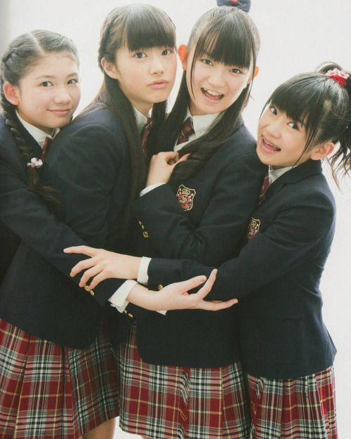 Suu-chan with 6th Graders