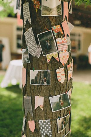 Some lovely images from a rustic, outdoor wedding...
