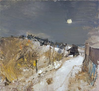 Catterline in Winter by Joan Eardley - print
