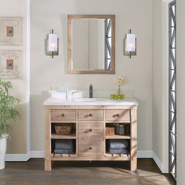 Elbe Rustic 48 Quot Single Sink Vanity By Northridge Home In