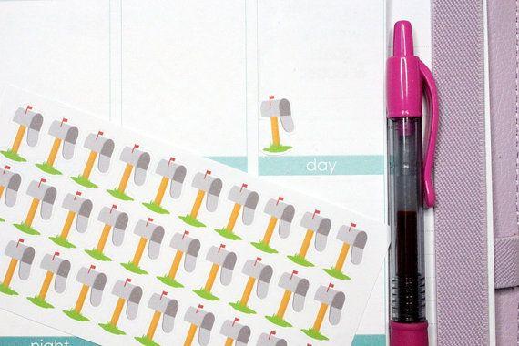 35 Mailbox Yard Stickers Perfect for Erin by KarolinasKrafts