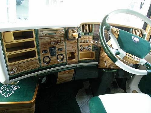 Dashbord volledig met airbruch bewerkt scania long line for Interieur scania longline