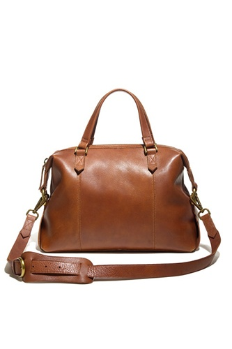 I like that this has the option of cross-body or using the handles. I think I'd prefer black though.