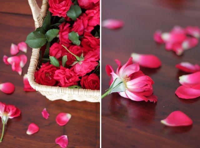 Rose petals for jam