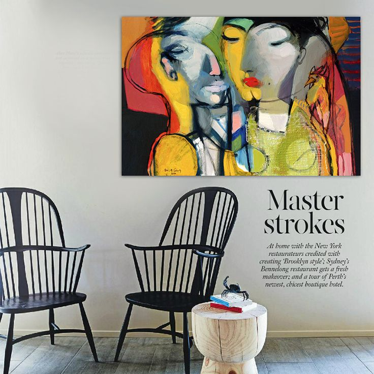 Find More Painting Calligraphy Information About Fauvism Modern Abstract Canvas Wall Art Figures Of Men And Women Love Original Living Room Bedroom