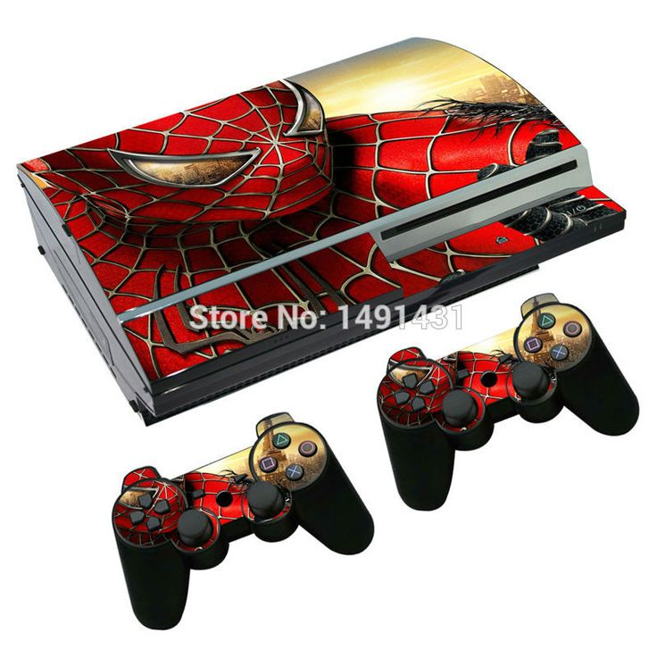 >> Click to Buy << cool spiderman vinyl skin sticker decal cover for PS3 fat console and controllers #Affiliate