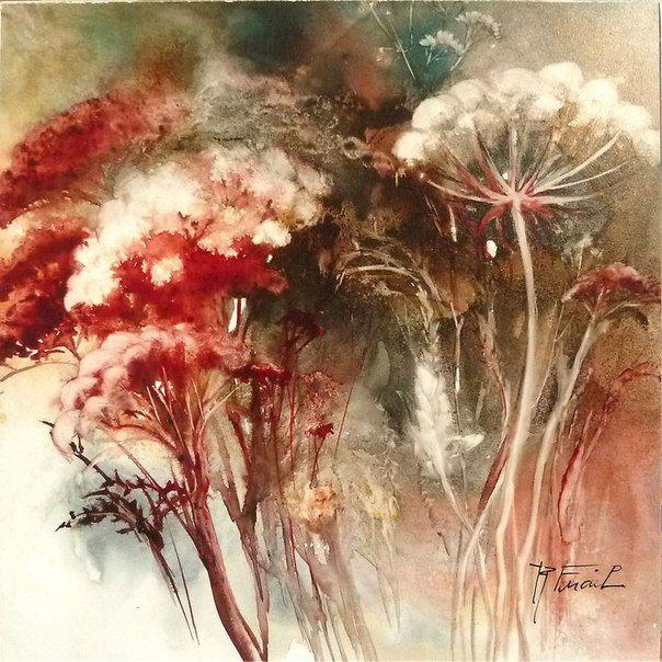 Imagem De Pintura Em Tela Por Ludmila Steblova Em Art Pinturas