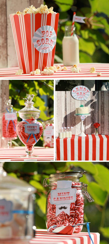 Candy Bar - Hochzeit mit Konzept