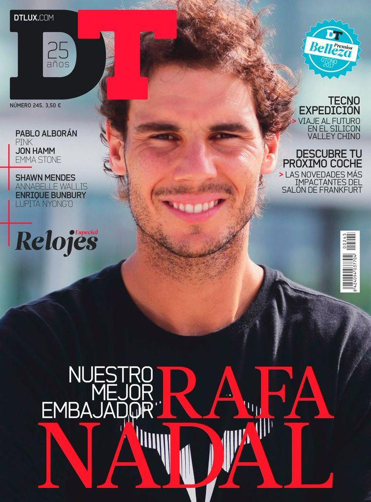Rafael Nadal covers DT magazine (October 2017)