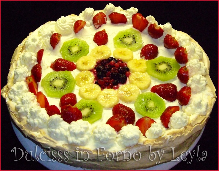 Torta Pavlova: deliziosa e completamente senza glutine, la ricetta