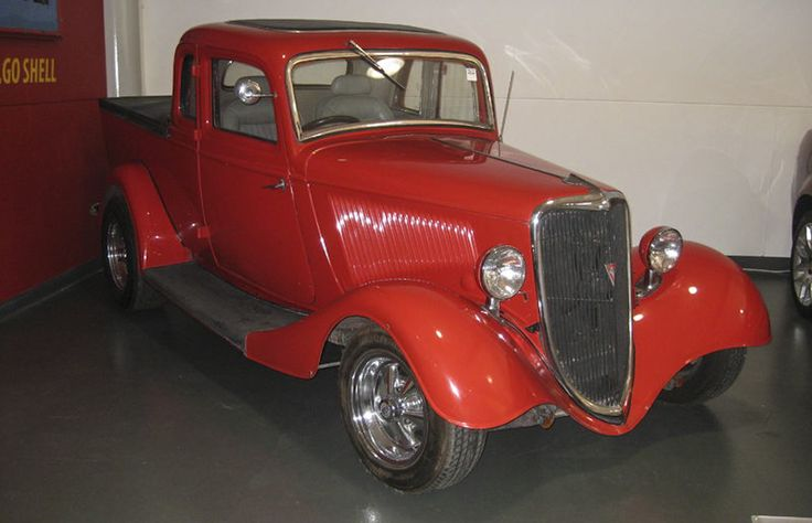 It's a red one cause it goes faster this Ford Motor Compnay Coupe Utility Vehicle....Iconic Australian inventions