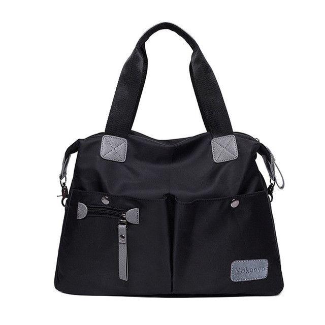 Women Handbag Casual Travel Large Shoulder Bag Waterproof Messenger bags Ladies Nylon Tote Hobos Bag Mummy Diaper Bags
