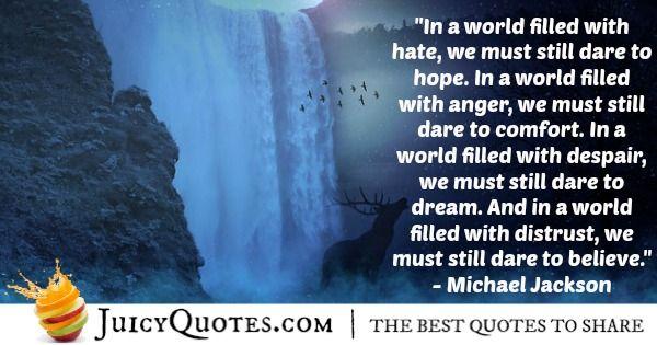 Michael Jackson Quote - 4