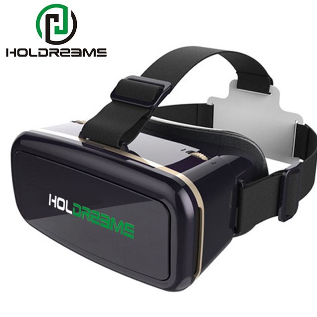 HOLDREAMS H1 IMAX 3D VR Gafas Casco Casco de Realidad Virtual Inmersiva Juego Video Palco Privado + Gamepad 5.0