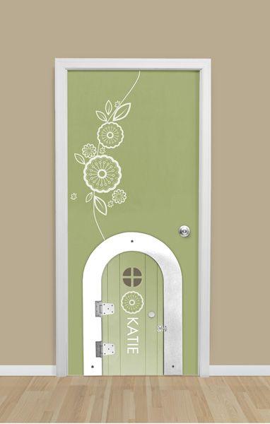 Secret Passage Door added to a standard door, Dutch door or wall. DIY Kit $394