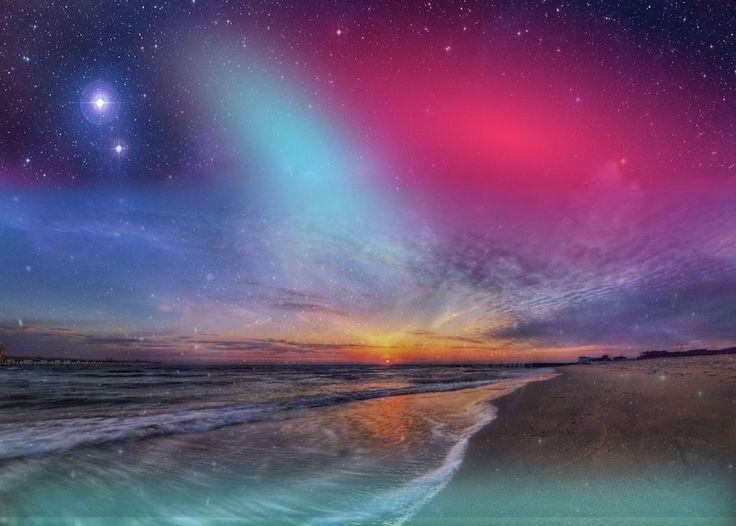 Cosmic seaside