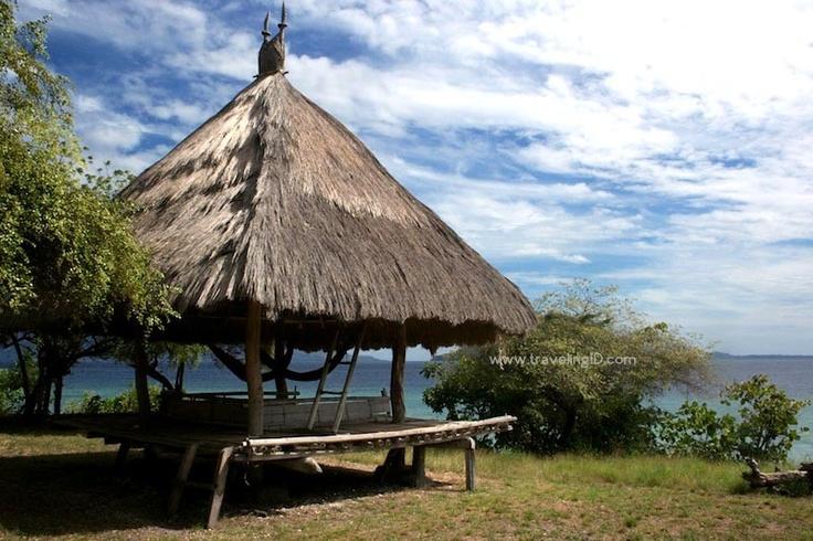 Penginapan ala Lopo di Pulau Kepa, Alor, #NTT Indonesia