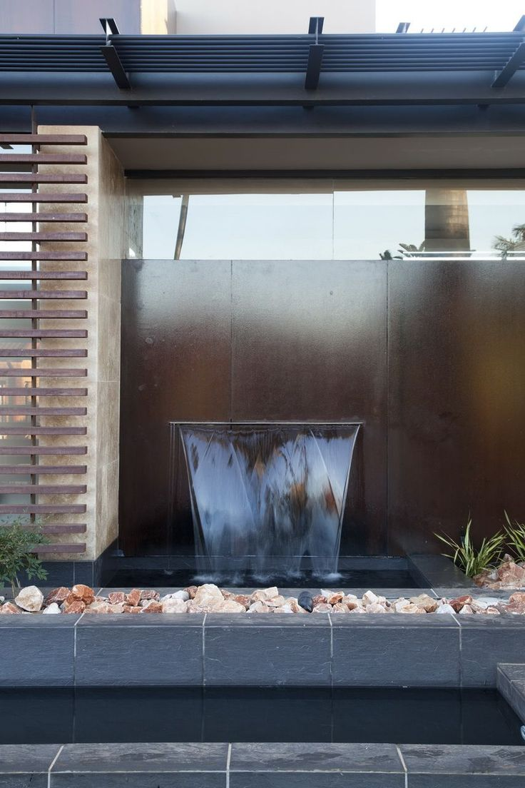A simple water feature is a nice way to add an interesting focal point to your backyard.