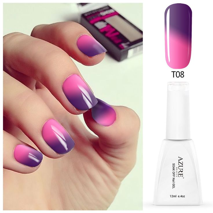 Azure beauty  temperature change color UV nail polish long lasting soak off gel nail varnish DIY gel nail art with high quality #>=#>=#>=#>=#> Click on the pin to check out discount price, color, size, shipping, etc. Save and like it!