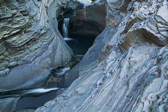 Spa Pool in #karijini national park #westernaustralia