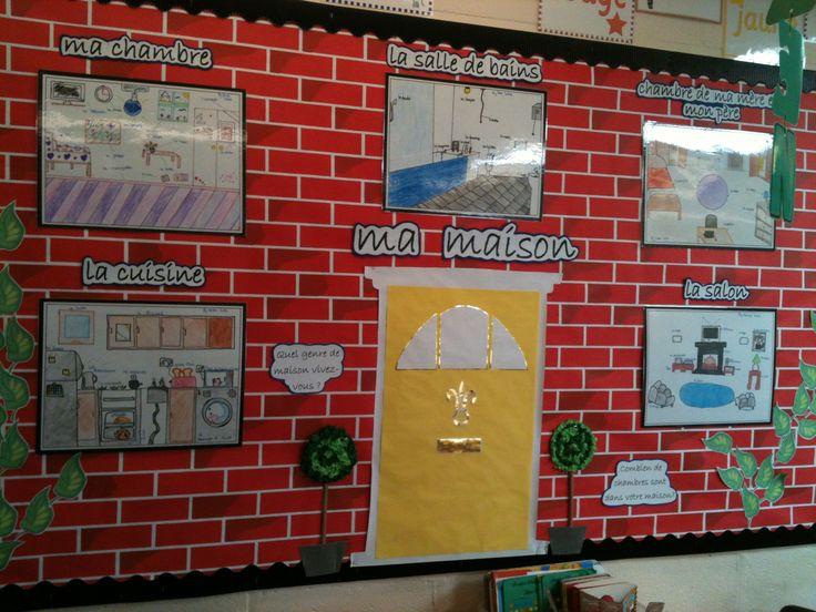 Creative Classroom Decoration Ideas ~ French display board creative teaching