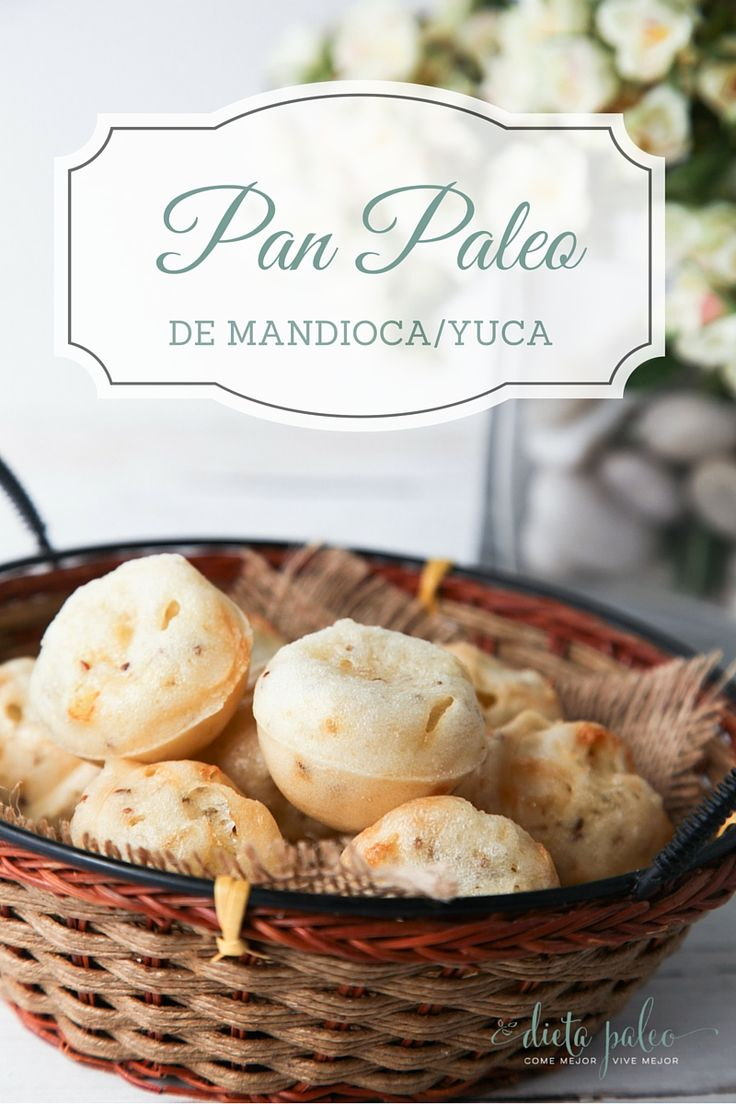 Pan paleo de mandioca/yuca | Dieta Paleo