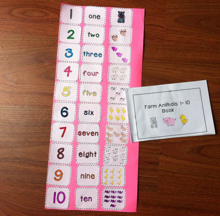 This package contains a 10 page reader and a cut and paste activity to help students learn their numbers, number words, and one-to-one correspondence.