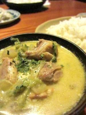 プーパッポンカリー風鍋(カニのココナッツカレー鍋) レシピ・作り方 ... タイ・グリーンカレー♪