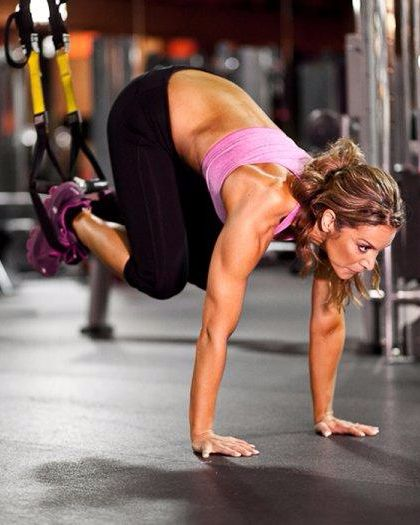Challenge your body with these TRX exercises fitness trainers love.