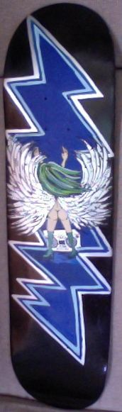 """hand painted 90.00 called """"13 points My Angel's got soul"""""""
