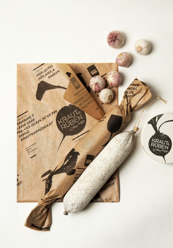 Garlic sausage? with great #packaging PD