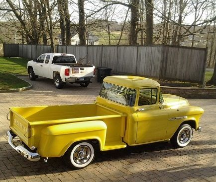 1955  Chevrolet Truck  frame off restored