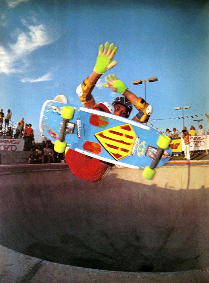 Brad Bowman, Del Mar Skatepark, 1982 #Skateboarding