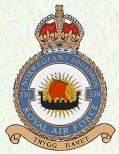 #330 Norwegian Squadron Formed at Reykjavik on 25 April 1941 from Norwegian personnel, who had managed to escape from Norway and then undergone training in Canada. They initially flew with RAF Sunderland crews but in May the aircraft ordered by the Norwegian government arrived in the form of Northrop N-3PB seaplanes.Anti-submarine operations began on 23 June and from July a detachment was operated from Akureyi.