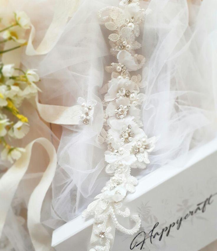 Sash belt Wedding belt Bridal sashbelt