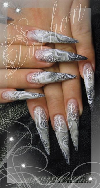 418 Best Stiletto Nails Images On Pinterest Pretty Nails Stiletto Nails And Fingernail Designs
