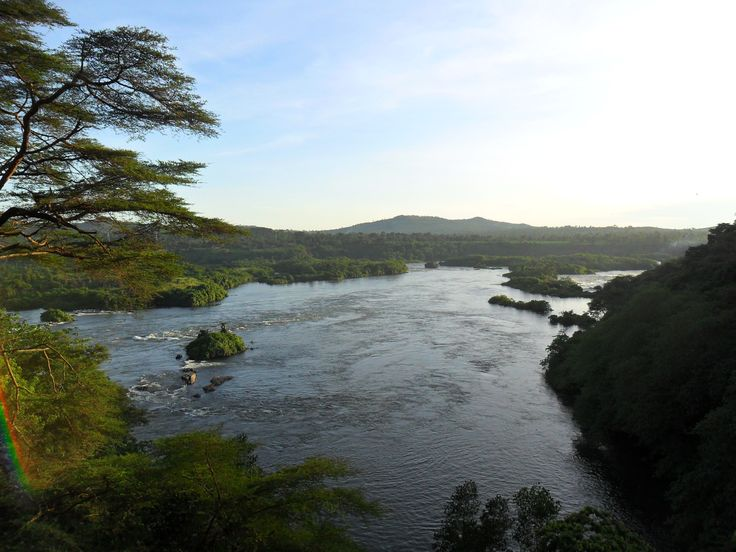 This is the River Nile in Jinja Uganda The River Nile is the longest river