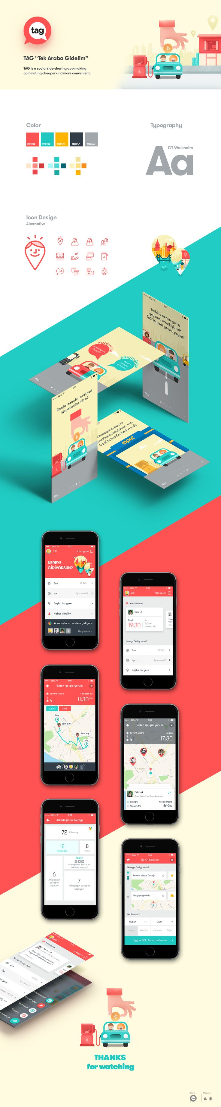 """TAG"" Mobile App Design on Behance"