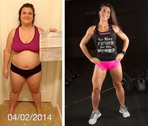 These men and women transformed their bodies through healthy eating and a dedication to fitness