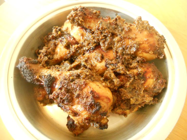 Bakakak Hayam Sundanese Style Grilled Chicken – Indonesia; There are some great flavors in this dish–including galangal, kaffir lime leaves, and coconut milk